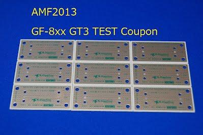 AMF2013 GT3 TEST COUPON BULLSEYE