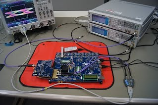 JESD204B ADS7 AD9680 EYE Gigaconnect GORE PhaseFlex