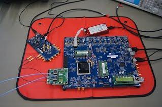 GF1 ADS7 JESD204B FPGA ROCKETIO